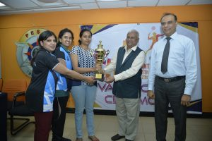ACHARYA IT BADMINTON WINNERS