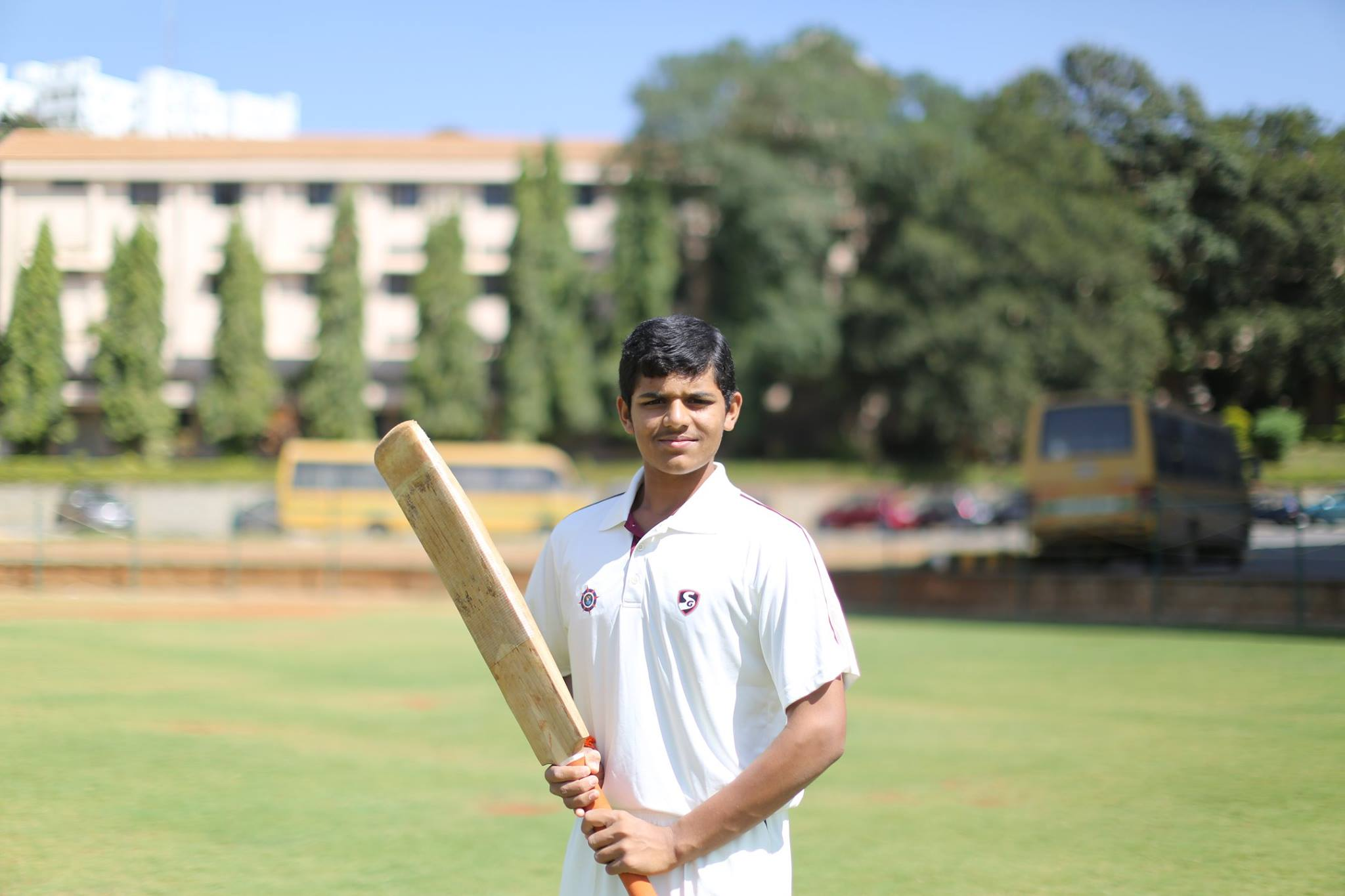 Shivakumar represents Karnataka in the Under 19 Trophy