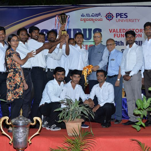 PES University Sports Award Ceremony & Unveiling of 2nd Edition of Spardha