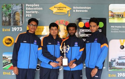 Chess victory for PES University team