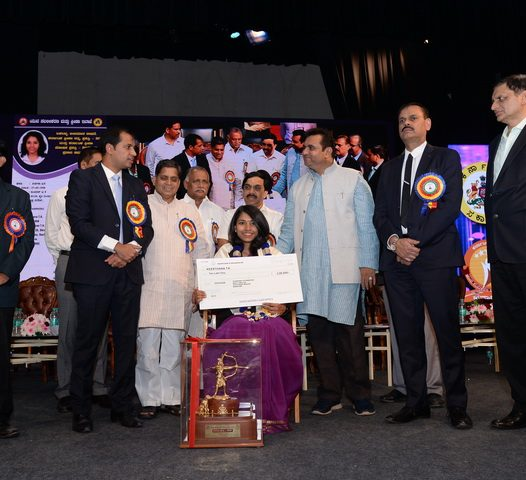 Ekalavya award for Keerthana