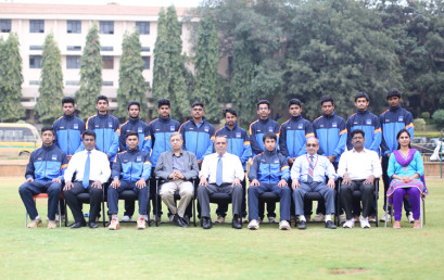 PES Cricket Team in All India South Zone Cricket Tournament