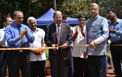 Pursuing sporting excellence: Cricket Ground inaugurated, Infini 2017 gets underway
