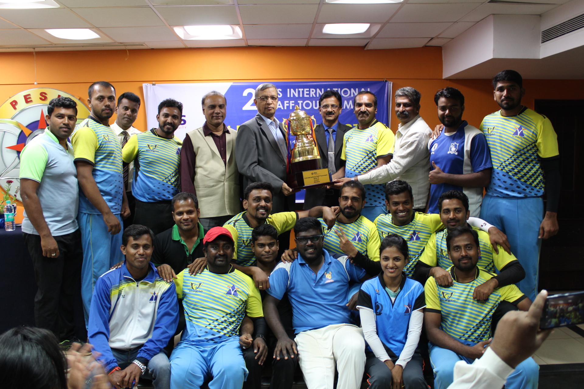 International staff tournament
