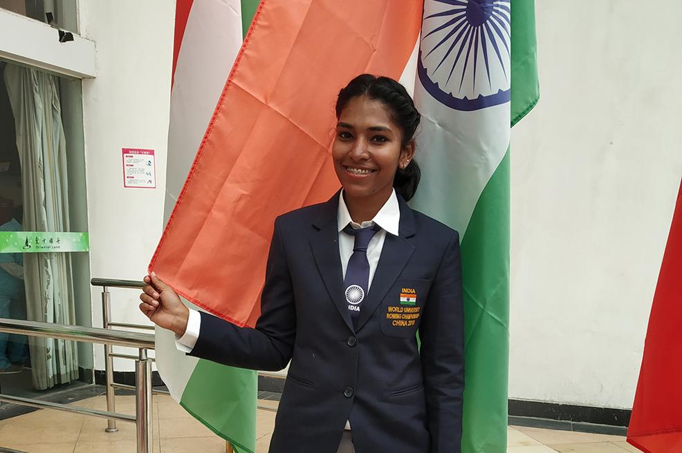 Keerthana at world championship