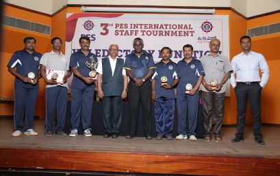 3rd International Staff Tournament held at PESU