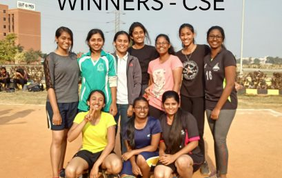 Inter-Department Throwball competition
